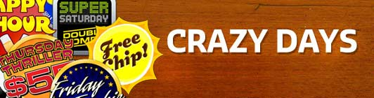 Crazy Days Promotions